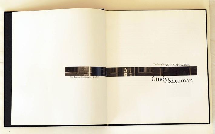 cindy sherman title page