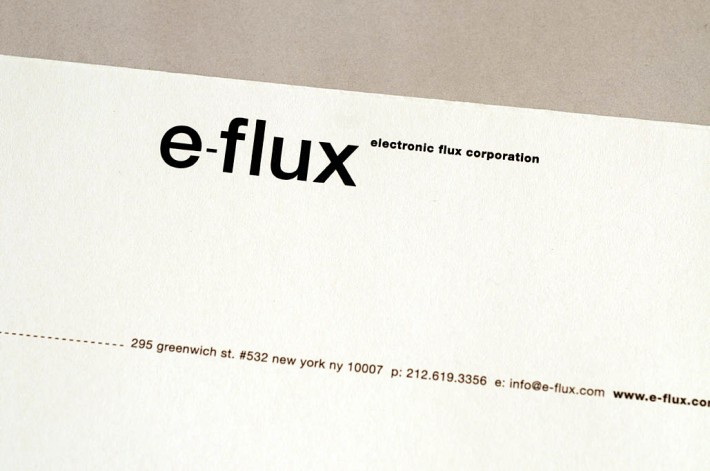 e-flux logotype