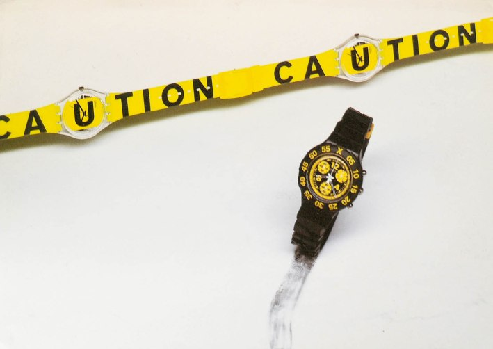 swatch caution