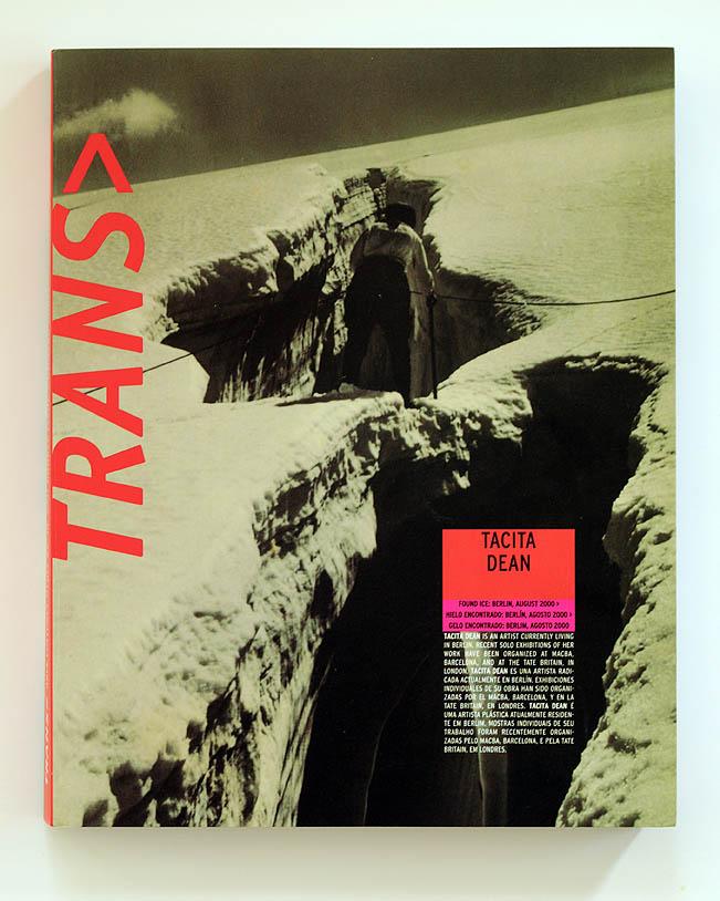 trans tacita dean cover
