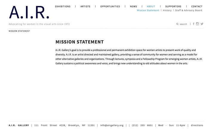 air mission statement